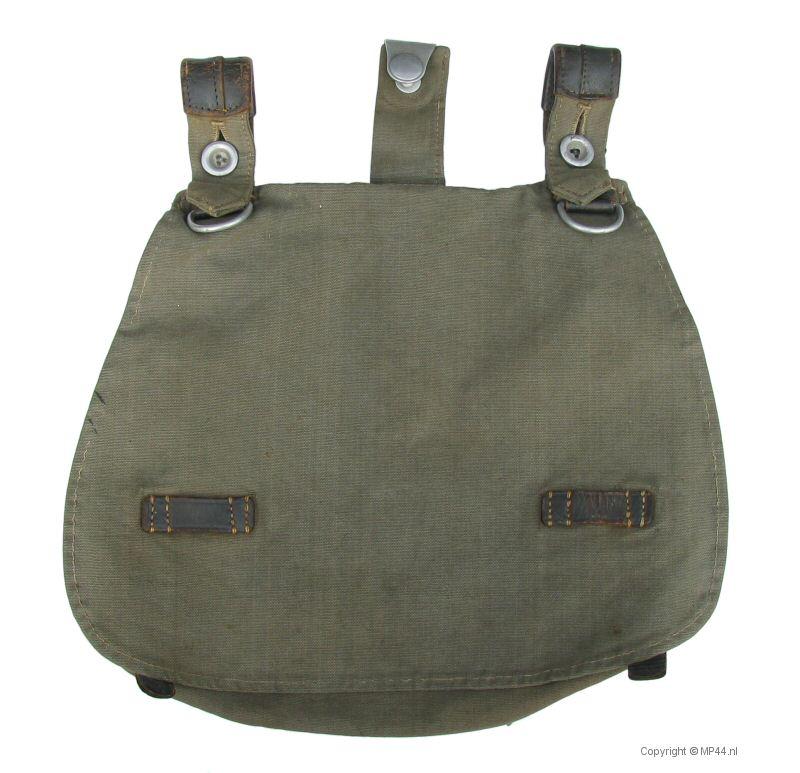 WWII GERMAN M31 BREAD BAG-GREY
